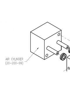 Dispense Valve Air Cylinder