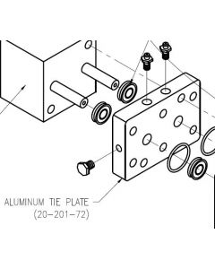 Aluminum Tie Plate