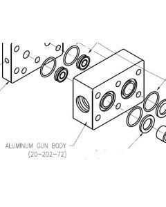 Aluminum Gun Body