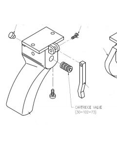 Trigger Gun Cartridge Valve