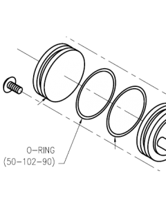Dispense Valve Air Cylinder O-Ring 1