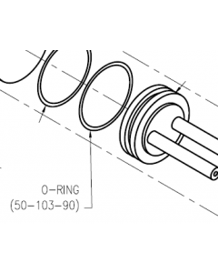 Dispense Valve Air Cylinder O-Ring 2