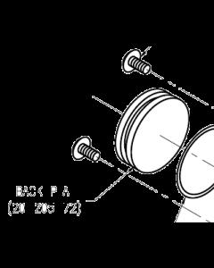 Dispense Valve Air Cylinder Back Plate