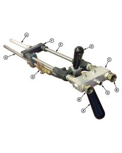 500X Lever Operated Extended Dispense Gun