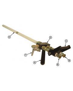 600 Lever Operated High Flow Dispense Gun